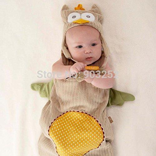 Owl Costumes Diy (Animal Cartoon Modeling DIY Baby Costume/beetle Owl Monkey Bear Shape Baby Sleeping Bag/disassembled Sleeping Sack)