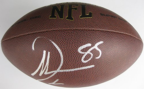 Antonio Gates, San Diego Chargers, Signed, Autographed, NFL Football, a COA with the Proof Photo of Antonio Signing Will Be Included