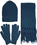 Men & Women's 3 Piece Knit Winter Set