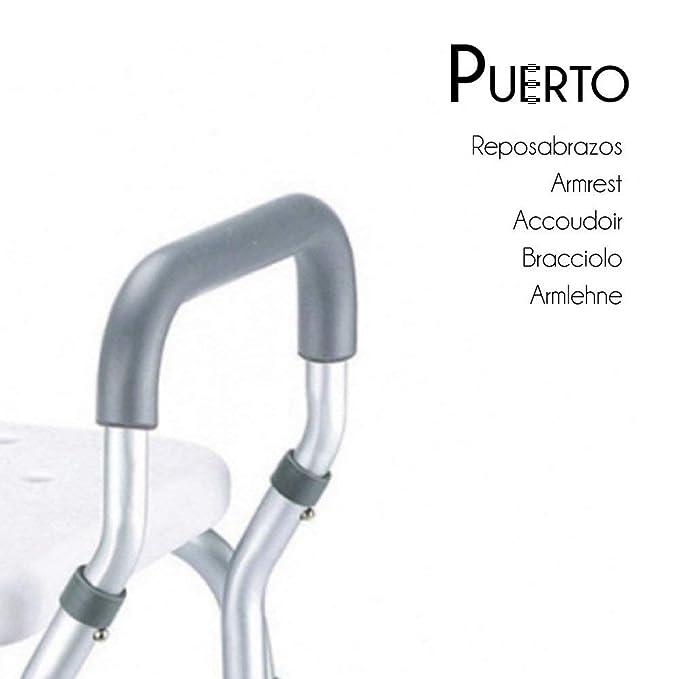 Mobiclinic, Puerto, Silla o taburete de baño, de ducha, ortopédica ...