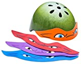 ninja bikes for kids - Teenage Mutant Ninja Turtles Child Helmet with Masks