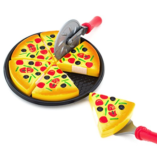 StarShine Living - My-Oh-My Pizza Pie 6 Pc. Playset (Party Playset Pizza)