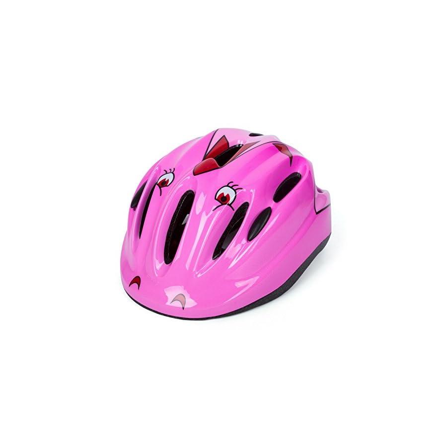 SUNVP Multi Sport Helmet Impact Resistance Safe Children Bicycle Helmet Protective Head Guard For Rock Climbing Cycling Drift Riding Bike
