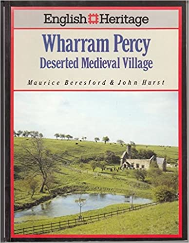 Deserted Medieval Village English Heritage Book of Wharram Percy
