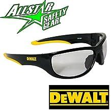 Lunarland Dewalt Dominator Safety Glasses Indoor Outdoor Clear Mirror I/O Lens Dpg94-9D