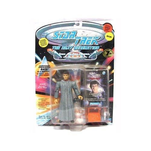 (Star Trek The Next Generation Lieutenant Commander Data as Romulan 4 inch Action Figure by Playmates )