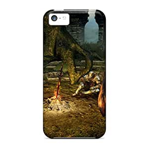 Shock-dirt Proof Dark Souls Bonfire Case Cover For Iphone 5c