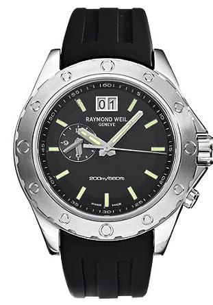 Amazon.com: Raymond Weil 8200-SR1-20001 Mens RW Sport Two Time Zone Watch: Raymond Weil: Watches
