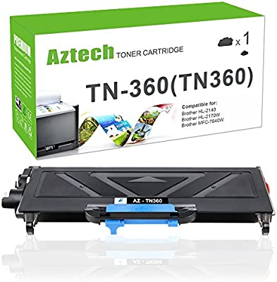 TN360 for Use with Brother HL-2170w Black,1 Pack SuppliesOutlet Compatible Toner Cartridge Replacement for Brother TN330