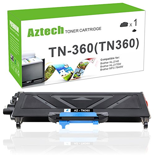1Pk Premium TN360 Toner Cartridges for Brother DCP-7040 HL-2150 MFC-7340 Printer