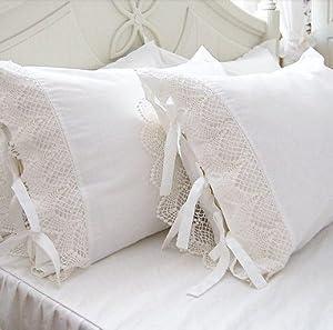 Amazon Com Diaidi Home Textile Luxury Lace Ruffle