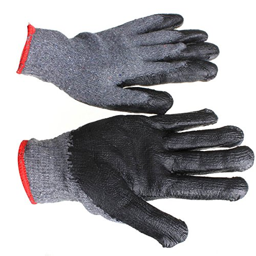 work gloves-maxiflex gloves-gardening gloves-Loskii LG-GA4 Non-skid Latex Gardening Gloves Labor Safety Working Gloves-garden genie gloves-heavy duty work gloves by Randall Elliott by Generic
