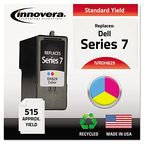 IVRDH829 Innovera Remanufactured HY Ink Cartridge-Replacement for CH884 (Series 7) Tri-Color