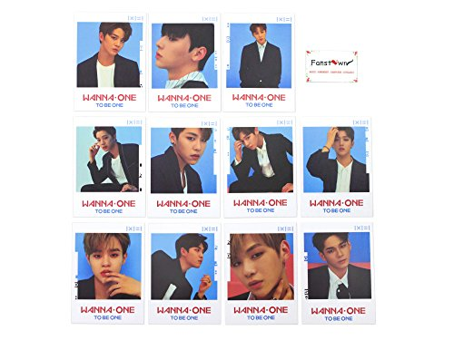 Fanstown Kpop Wanna One Postcards Polaroids Lomo cards Photo cards (Wanna One A)