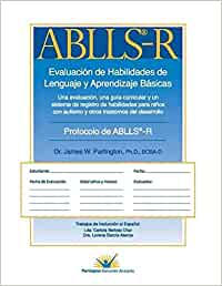 Spanish ABLLS-R: The Assessment of Basic Language and