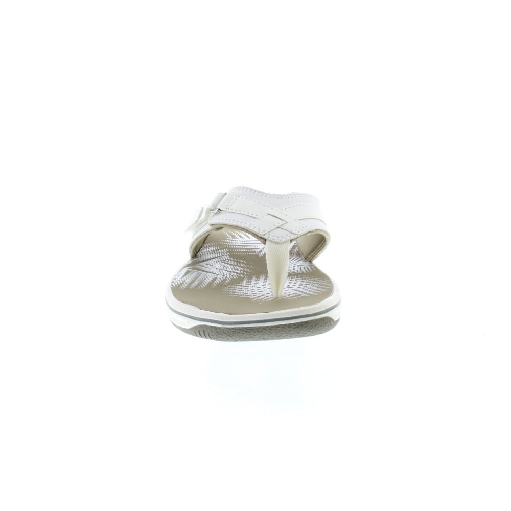 Clarks Clarks Clarks Damen Brinkley Sea Zehentrenner, Weiß (Weiß Synthetic) fb13a1