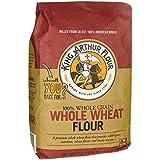 King Arthur Flour - 100% 全麦面粉 - 5磅。