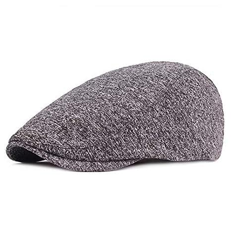 Amazon.com  Men s Cotton Beret Hat 0e132020e11
