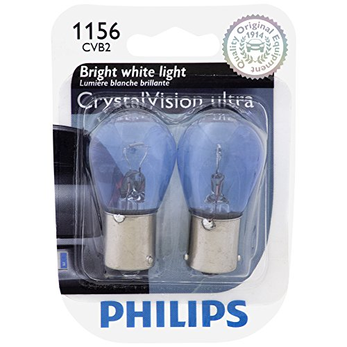 Price comparison product image Philips 1156 CrystalVision ultra Miniature Bulb,  2 Pack