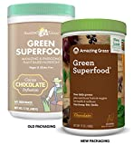 Amazing Grass Green Superfood Organic Powder with Wheat Grass and Greens Flavor Chocolate 60 Servings Discount
