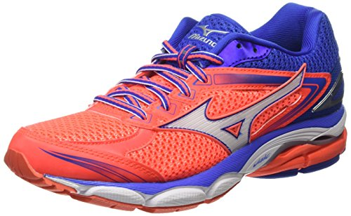 Rose white Blue Coral De fiery Running dazzling Ultima Chaussures Compétition Mizuno Wave 8 Femme f68R1qq4