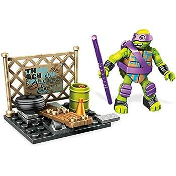 Amazon.com: Mega Bloks Teenage Mutant Ninja Turtles Street ...