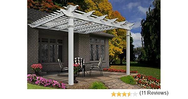 Bop & Koo 001 Porche Mont PVC Blanco 436 x 436 cm, 3, 66 X 3, 66: Amazon.es: Jardín