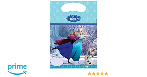 Frozen - Bolsa de cumpleaños (Unique Party 72112)