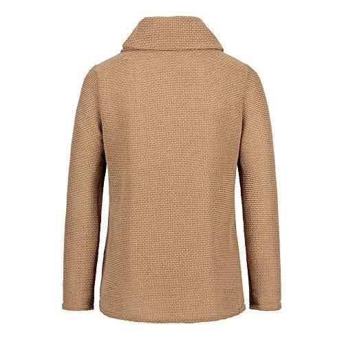 À Capuche Manches Blouson Sweatshirt Chaud Kaki Surdimensionné Tops Bouton Manteau Shobdw Femme Hoodie Veste Mode Longues Hiver Pullover Blouse 1OxI06wq