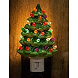 Decorative Ceramic Christmas Night Light