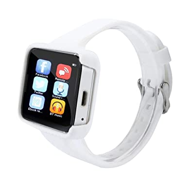 Amazon.com: BIYATE Smart Watch Phone Smartwatch with Camera ...