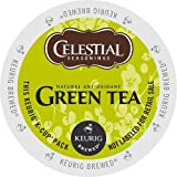 Celestial Seasonings Green Tea Authentic Green Tea is made from 100% natural green tea. People around the world drink green tea, made from the plant Camellia sinensis, to lift their spirits and to savor its tantalizing aroma and smooth taste....
