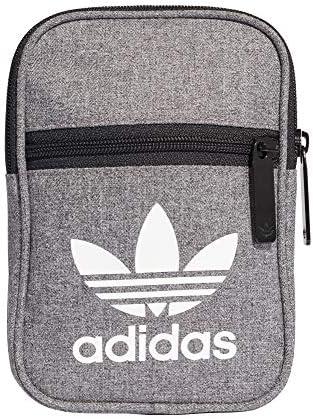 Adidas Fest Bag Casual Bolso Bandolera, 45 cm, Negro/Blanco: Amazon.es: Equipaje