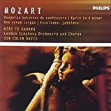 Music : Mozart: Vesperae solennes de confessore / Kyrie in D minor / Ave verum corpus / Exsultate, jubilate