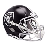 Oakland Raiders BLAZE Officially Licensed Speed Full Size Replica Football Helmet