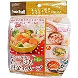 レンジカフェ たっぷり野菜のスープ レンジで簡単調理容器 PS-G687