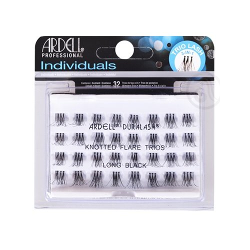 Ardell Individual Trios Eyelash, Black, Long