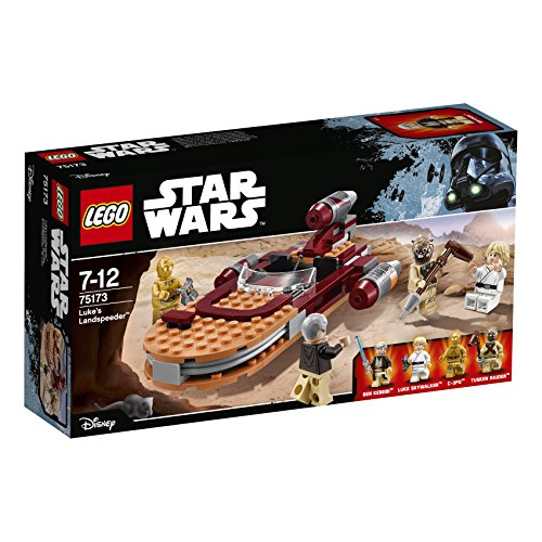LEGO Star Wars - 75173 Luke's Landspeeder 2017 - Lego Luke Skywalker