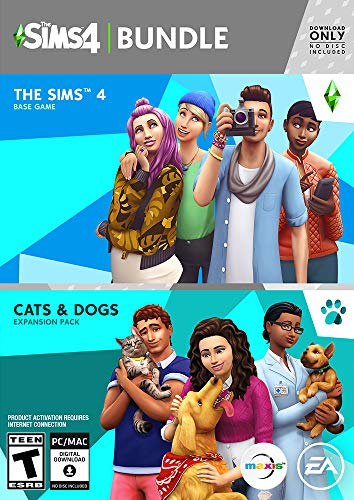 The Sims 4 – Plus Cats & Dogs Bundle [Online Game Code]
