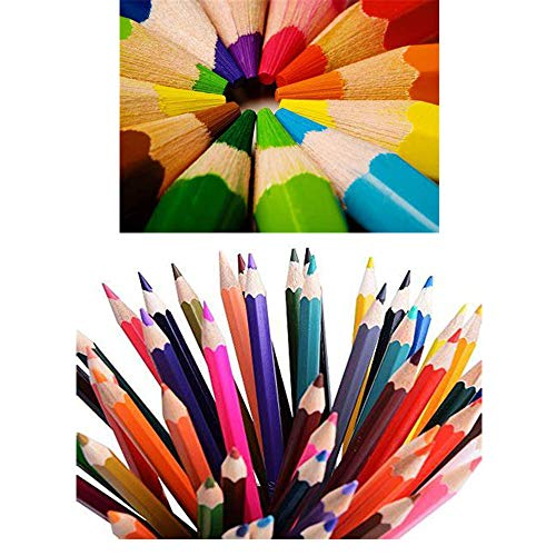 Watercolor Pencils,SouthStar 48 Colored Pencils Set Premier Soft Core,Multicoloured Art Drawing Pencils in Bright Assorted Shades, Ideal for Coloring, Watercolor Techniques