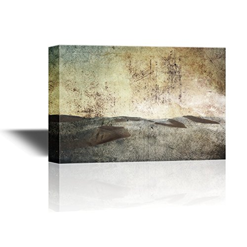 Abstract Landscape with Desert in Grunge Background Gallery