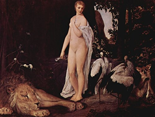Lais Jigsaw Gustav Klimt - Female Nude with Animals in a Landscape 100 Pieces ()