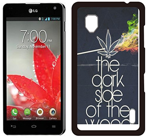 weed hipster Quote Hard Plastic and Aluminum Back Case For LG Optimus G E975