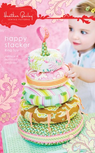 Happy Stacker Ring Toy (Heather Bailey Patterns Happy Stacker Ring Toy HBA-SPOO3)