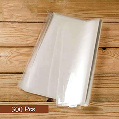 300 PCS 11.8x11.8inch Cellophane Paper Sheet for Bread Cakes Desserts Cellophane Wrap Packaging Convenient for Store Take-away Pastry by FUNZON FH031 300 Pcs Cellophane Packaging Sheets