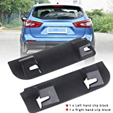 Hand Clip Block - ABS Plastic Tailgate Boot Tailgate Handle Internal Clips Handle Repair Snapped Clip Kit for Nissan Qashqai (2006-2013)