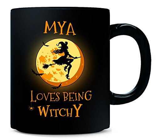 (Mya Loves Being Witchy. Halloween Gift -)