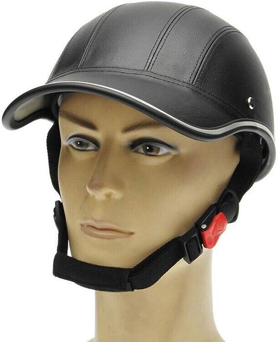 MOOUK Gorra Béisbol Estilo Casco Moto Anti-UV Visera para Hombre ...
