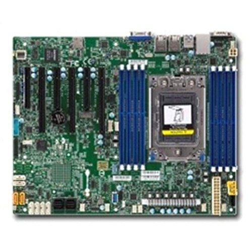 (Supermicro MBD-H11SSL-I-O Socket SP3/ System on Chip/ DDR4/ SATA3&USB3.0/ V&2GbE/ ATX Motherboard)