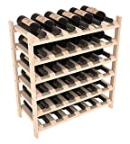 Wine Racks America Ponderosa Pine 36 Bottle Stackable. Unstained Review